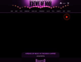 kreweofboo.com screenshot