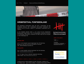 krimifestival-5seenland.de screenshot
