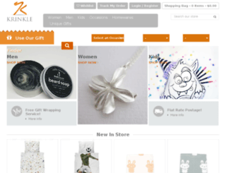 krinkle.com.au screenshot
