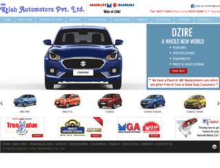 krishautomotors.com screenshot