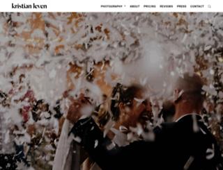 kristianlevenphotography.co.uk screenshot