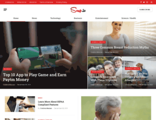 kristiecapria.soup.io screenshot