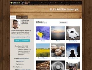 kristoffer.jalbum.net screenshot