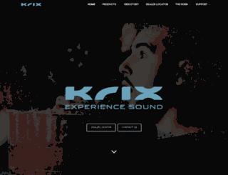 krix.com.au screenshot