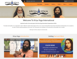 kriya.org screenshot