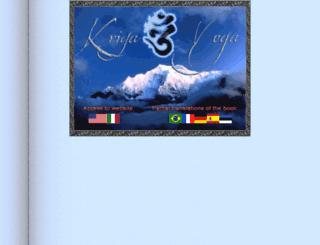 kriyayogainfo.net screenshot