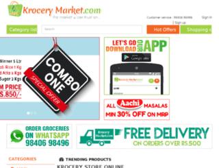 krocerymarket.com screenshot
