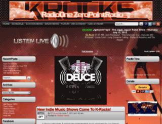 krocksradioone.com screenshot