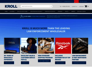krollcorp.com screenshot