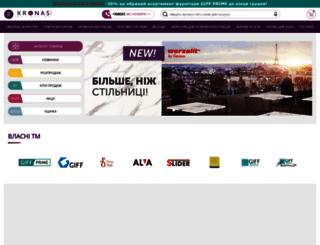 kronas.com.ua screenshot