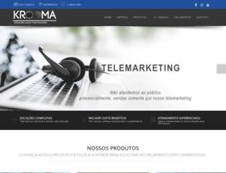 krooma.com.br screenshot