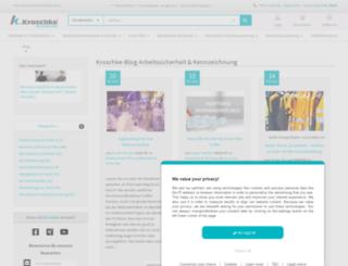 kroschke-blog.eu screenshot