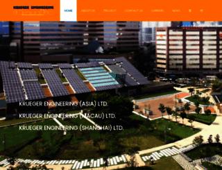 krueger.com.hk screenshot