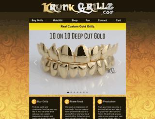 krunkgrillz.com screenshot