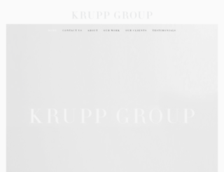 kruppgroup.com screenshot