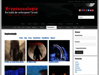 kryptozoologie.net screenshot