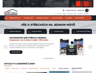 krytiny-strechy.cz screenshot