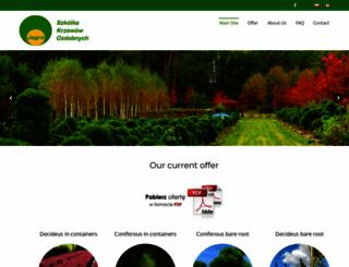 krzewy.pl screenshot