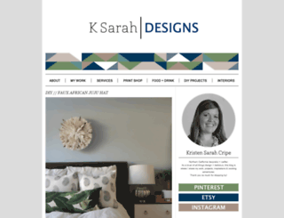 ksarahdesigns.typepad.com screenshot