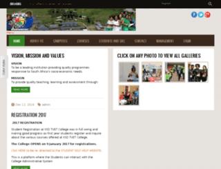 ksdfetcollege.edu.za screenshot