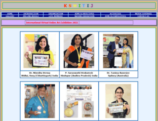 kshitij.org screenshot