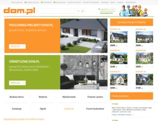 ksiegarnia.dom.pl screenshot