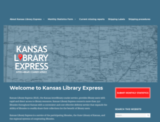 kslibexpress.mykansaslibrary.org screenshot