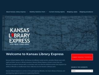 kslibexpress.mykansaslibrary.org screenshot