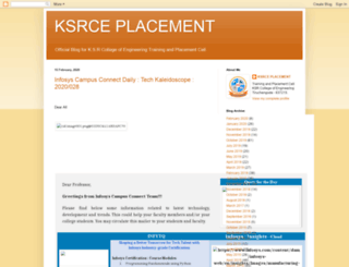 ksrceplacement.blogspot.in screenshot