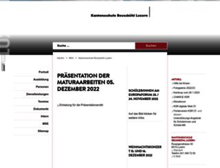 ksreussbuehl.lu.ch screenshot
