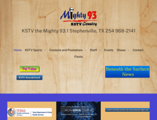 kstvfm.com screenshot