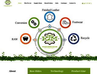 ktmleather.com screenshot