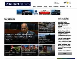 kuam.com screenshot