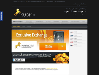 kubisa.pl screenshot