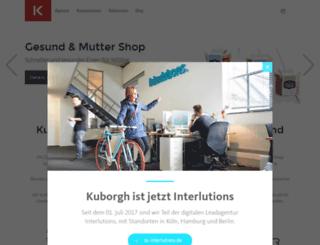 kuborgh.de screenshot