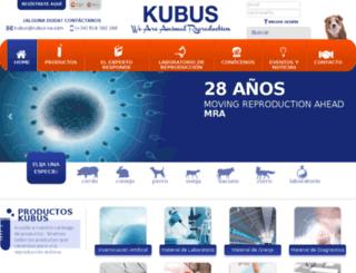 kubus.e-waam.com screenshot