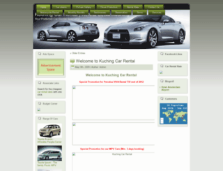 kuchingcarrental.com screenshot