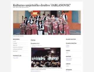 kud-jablanovec.hr screenshot