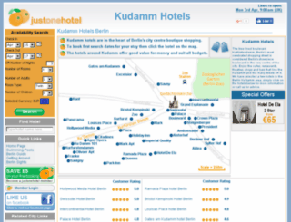 kudammhotels.com screenshot