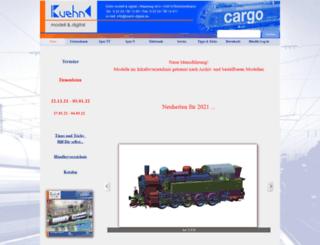 kuehn-modell.de screenshot