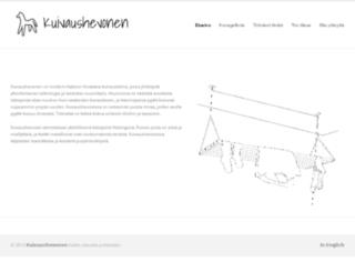 kuivaushevonen.fi screenshot