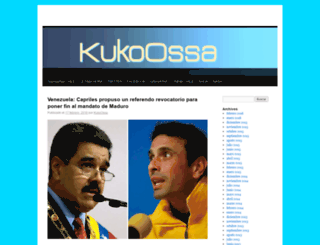 kukoossa.wordpress.com screenshot