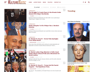 kulturekritic.com screenshot