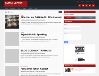 kumanleptop.blogspot.com screenshot