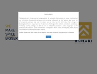kumaribuilders.com screenshot
