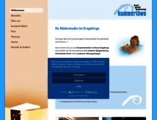 kummerloewe-komplettbad.de screenshot