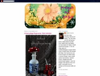kungenomajkis.blogspot.se screenshot