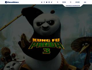 kungfupandaworld.com screenshot