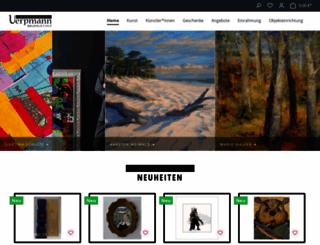 kunsthaus-uerpmann.de screenshot