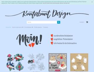 kunterbuntdesign.de screenshot